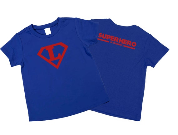 Personalized superhero boy t shirt super hero by Boys superhero t shirts