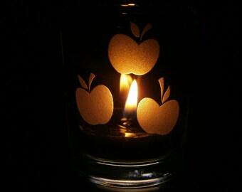 Applejack Cutie Mark - Candle Holder