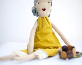 SALE-Cloth Rag Doll