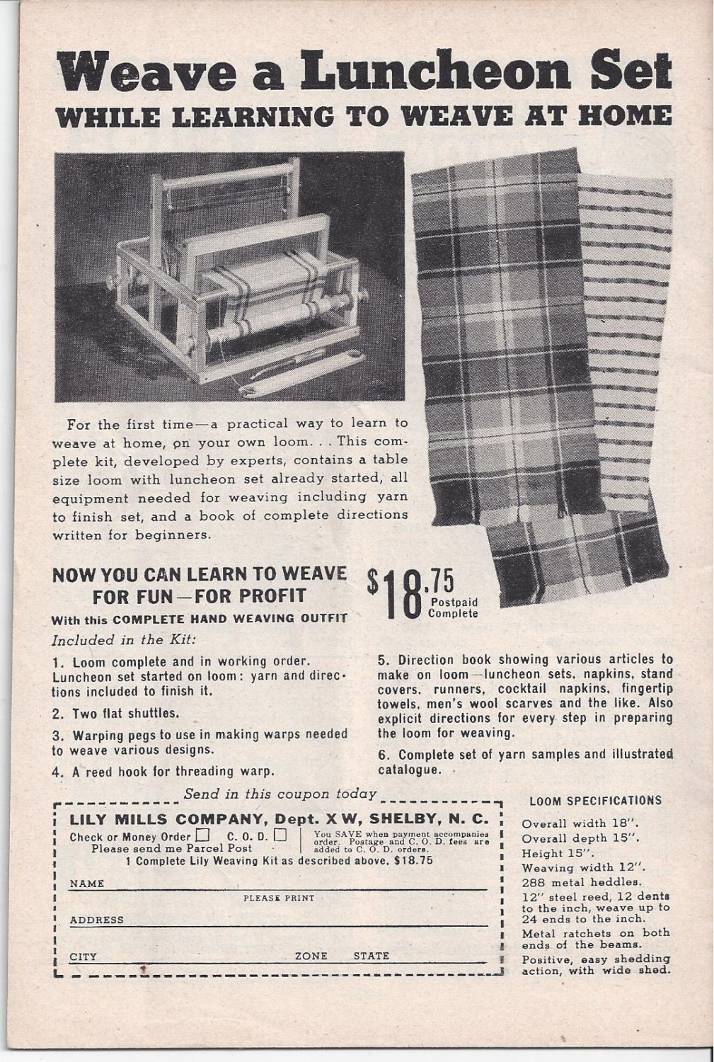 The workbasket home needlecraft book january 1949 featuring 700 bankloansurffo Choice Image