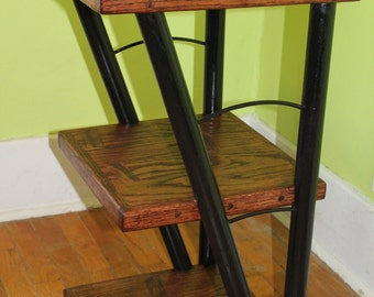 Reverse-Truss End Table