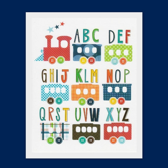Baby Nursery Art Print Dog Abc Nursery Decor Alphabet Print: Items Similar To Nursery Art Prints, Children Room Decor