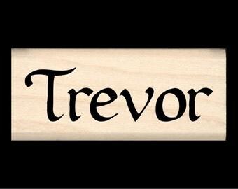 Name Rubber Stamp for Kids - Trevor