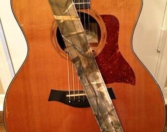 Guitar Strap - Handmade - Realtree Max4 HD Camo