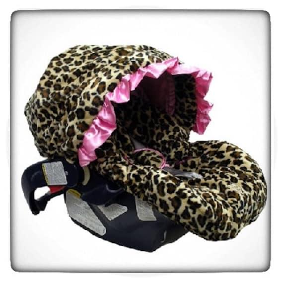 Pink Cheetah Car Seat Cheetah Print Car Seat Cover