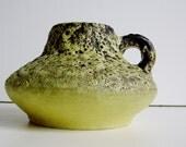 Vintage Ruscha keramik ceramic Fat Lava vase / jug West germany WGP