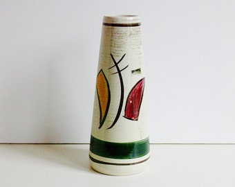 Scheurich Europe line keramik / ceramic vase,  West Germany, WGP