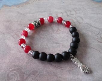 Azabache (figa hand) protection bracelet