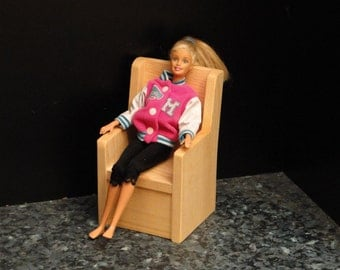 Chair for 12 inch/Barbie Dolls (063)