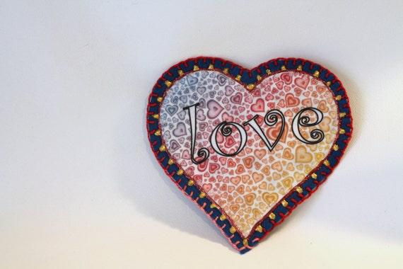 Applique | Patch | Sew On Applique | Patch for Jeans | Backpack Decoration | Monogram | Love | Heart | Glue On Applique | Accessory | Decor