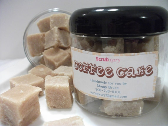 SKIN CARE Moisturizing Sugar Scrub Bath Salts Coffee Cake 16 oz