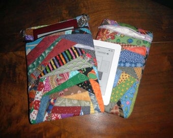 Unique quilted cover for kobo, kobo mini, sony, kindle