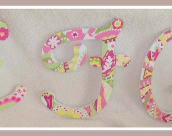 Handpainted Wooden Letters