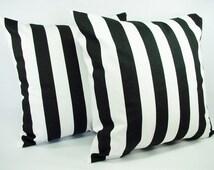 Popular Items For Black Stripe Pillow On Etsy