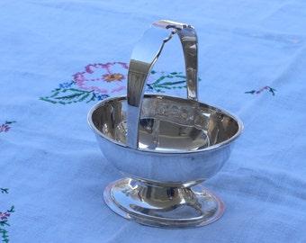 Jelly Basket - Sugar Basket - Silver Plate - Vintage
