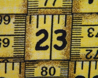 Tape Measure sewing tool fabric by the yard Fabric Traditions