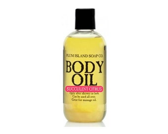 Body Oil: Succulent Citrus