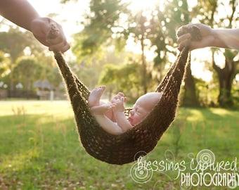 Crochet Hammock Photography Prop