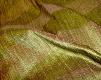 Striped Silk Dupioni by the yard