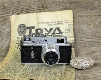 SALE Old Vintage Soviet  Camera Zorkiy - 4