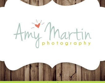 Custom Pre-made Photography Logo & Watermark