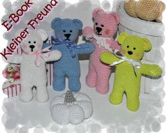 Crochet pattern - Tutorial - Teddy - Bear