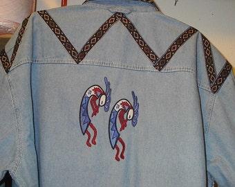 Native American Kokopelli shirt