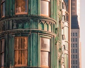 San Francisco / Architecture / Green / Gold / Skyline / Travel Photography / City / California / Fine Art Print