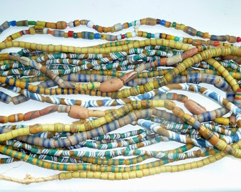 Vintage African Sand Beads