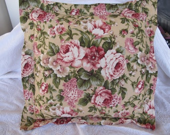 Cushion Cover 16 inch Square Vintage Style