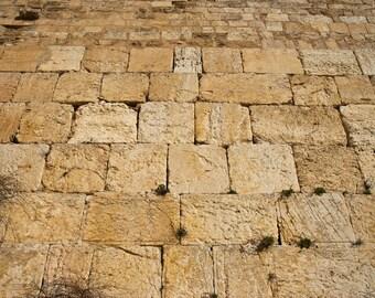 Israel Photography - Western Wall - Jerusalem- Israel - Fine Art Photograph - Wall Art