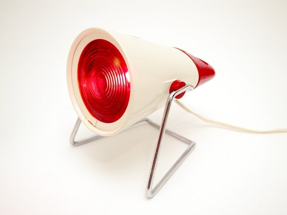 Philips Infraphil Lamp Infrared Heat Lamp Desk By Upcyclehero