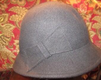Vintage Steampunk  Flapper Hat