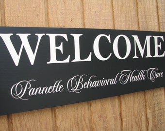 Custom Business Signs Business Sign Welcome by ...