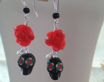 La Bella Muerta Earrings