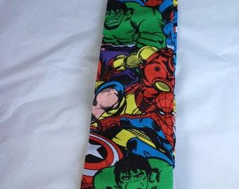 Superhero adult tie