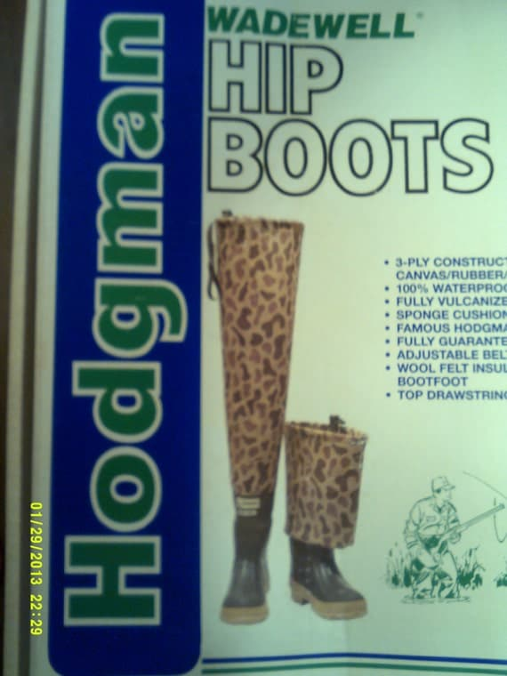 Reserved For Donn Mens Vintage Hodgman Wadewell Hip Boots