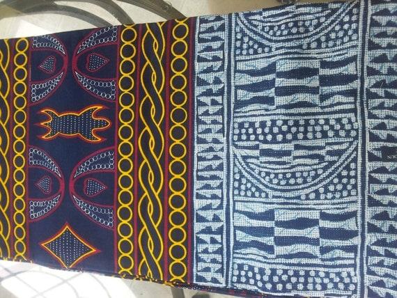 Atoghu Print Bamenda Fabric Sold Per Yard