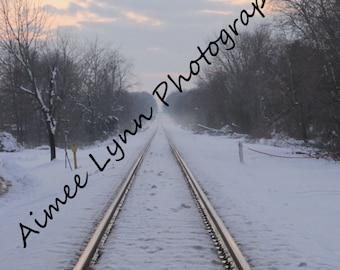 Tracks at Sunset - Fine Art Photography