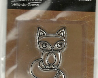 "Imaginisce Snag 'em Stamps: Clear Stamp ""FOX""   Item 003344"