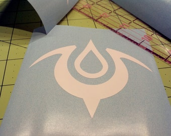 Mark of the Exalt Fire Emblem Window Decal