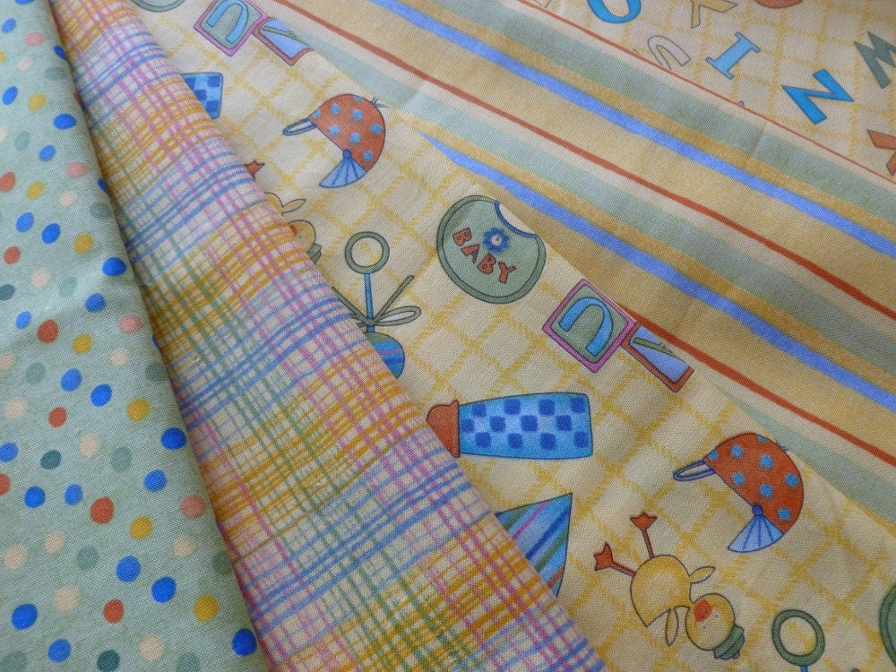 Cute baby fabric fat quarter bundle quilt fabric cotton for Cute baby fabric
