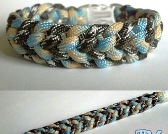 Starlit Shores Paracord Bracelet