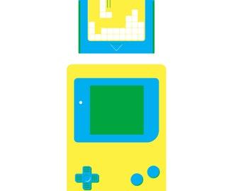Gameboy Screenprint