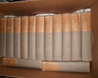 The Works of William Shakespeare, Warwick Edition, 1901, 13 Volume Set