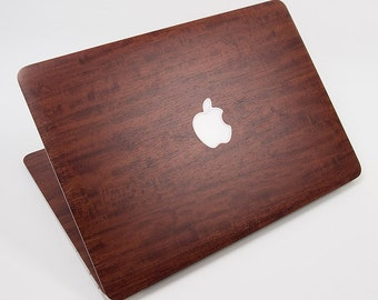 """New Style Full Wood Primavera Decal For Apple Macbook Air 13"""" 13.3"""" A1466 A1369 For 2010-2014 Protector Skin Decal 5 pieces"""