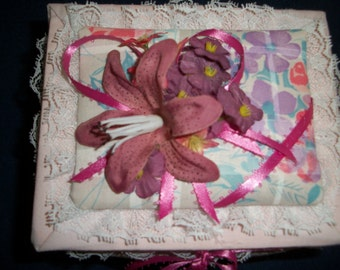 Fabric Covered Keepsake Box