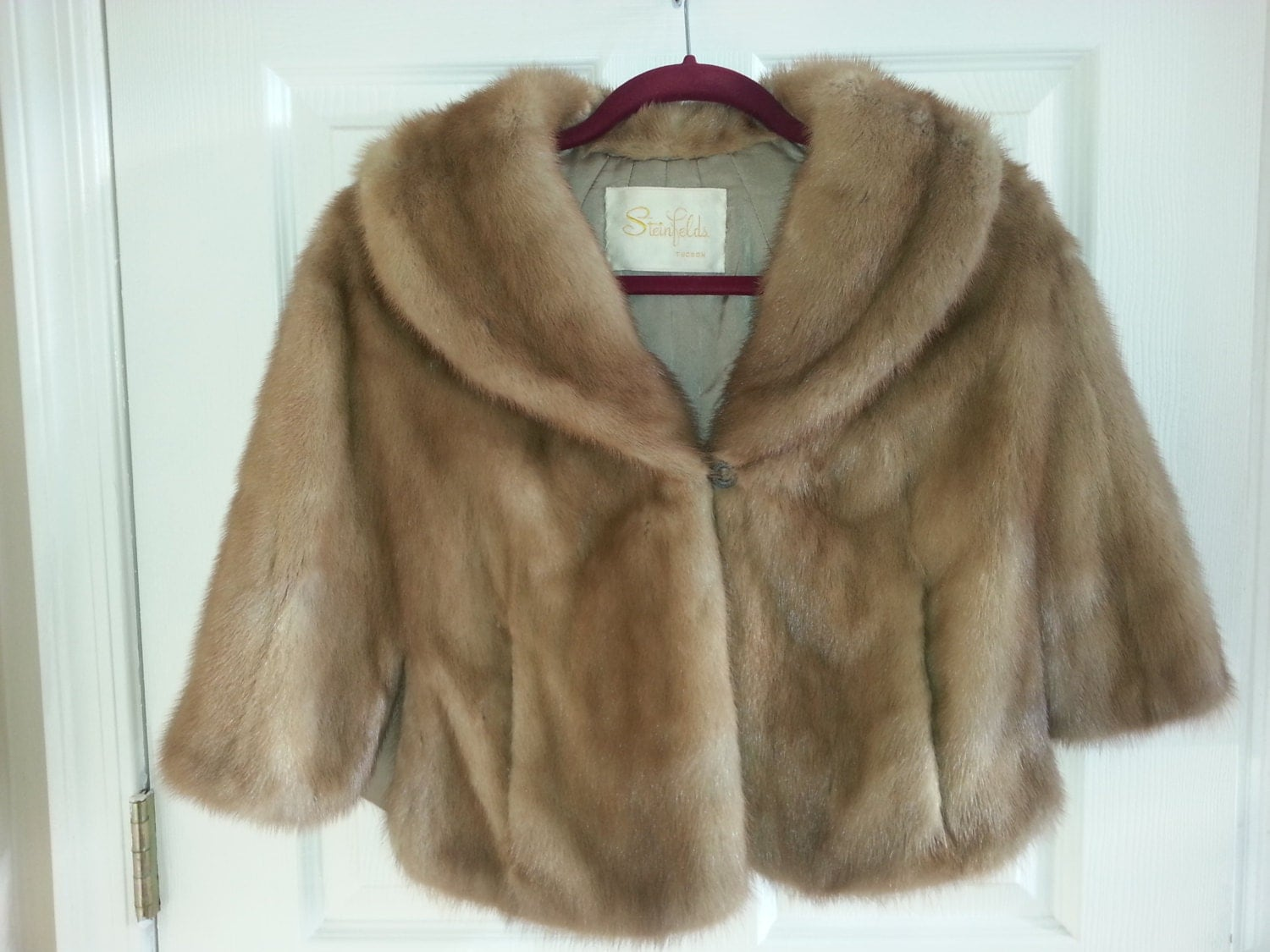 Vintage mink stole by bittersweetshimmer on etsy for Vintage sites like etsy