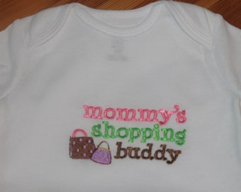 Personalized Embroidered Baby Onepiece Bodysuit - Mommy's Shopping Buddy