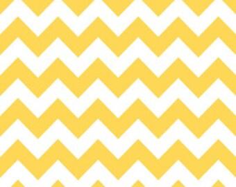 Riley Blake Chevron Yellow - 1/2 yard